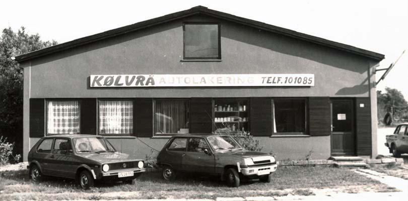 Kølvrå Autolakering 1976